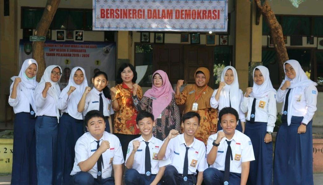KPO SMP N 8 Surakarta PEMILU