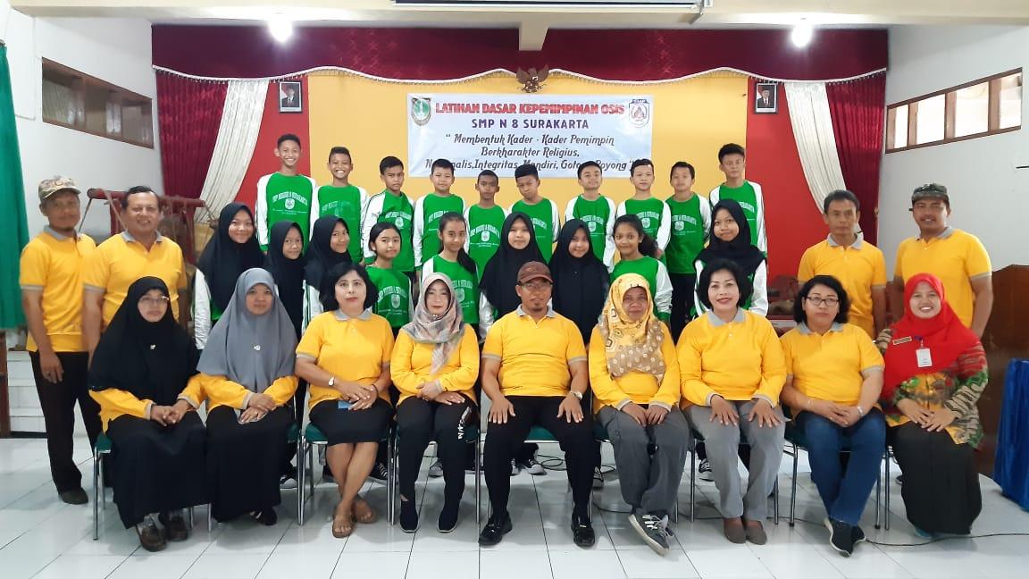 Gembleng Jiwa Kepemimpinan, SMPN 8 Surakarta Gelar LDK