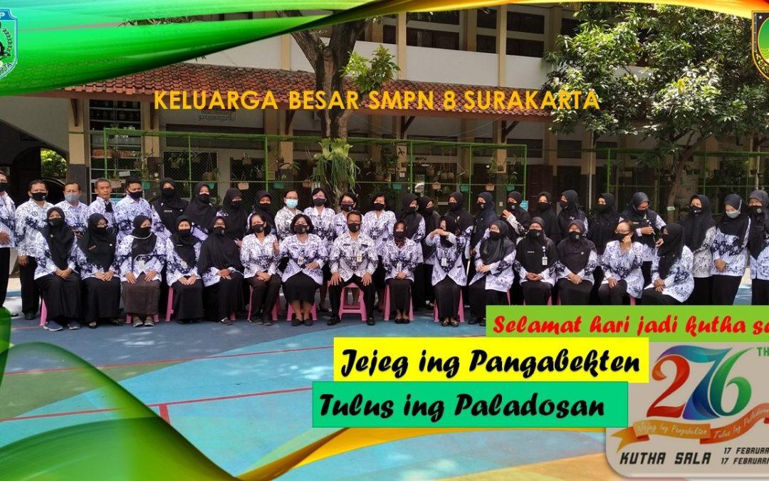 Keluarga Besar SMP N 8 Surakarta
