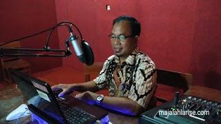 Inovasi SMPN 8 Surakarta, Studio Musik Dilengkapi Studio Pembelajaran Daring