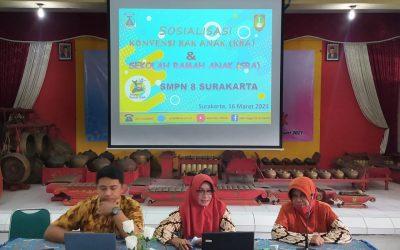 Sosialisasi SRA Tenaga Pendidik dan Tenaga Kependidikan SMPN 8 Surakarta