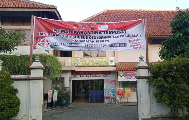 Dijadikan Rumah Karantina, Siswa SMPN 8 Surakarta Dilarang ke Sekolah